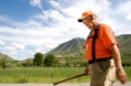 Rick Hammersley walks along Riverbottom Road in Spanish Fork as he crosses Utah for Rick Walks America Tuesday, May 27, 2008. Photo Courtesy of MARK JOHNSTON/Daily Herald.