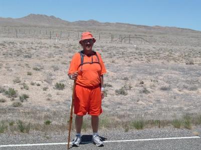 Rick Hammersley in Nevada Desert