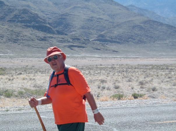 Walking in Nevada US 50