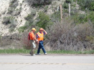 Rick walking with Ed Mason, our Xocai Healthy Chocolate Sponsor, in Utah