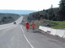 Rick & Chris Hammersley Walking