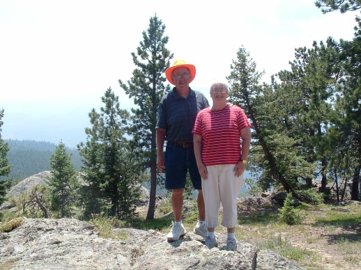 Rick & Val in Rocky Mountain National Park
