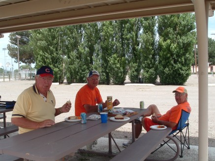 Lunch with Don & Ron Hammersley