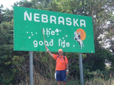 Entering Nebraska
