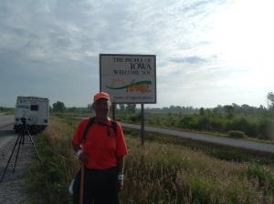 Rick Hammersley Entering Iowa
