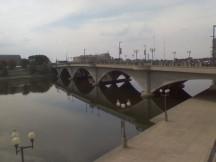 Bridge into Columbus Ohio