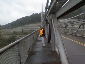 Ron Hammersley on West Virginia Bridge