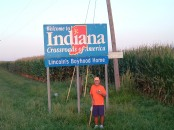 Rick Hammersley Walking Into Indiana