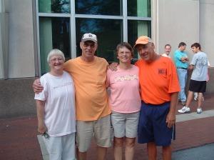 Rick & Val Hammersley with Gary & Karen Barnard