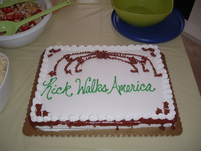 Rick Walks American Cake