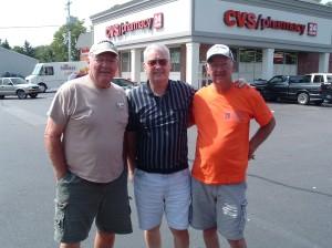 Don, Scott & Ron Hammersley