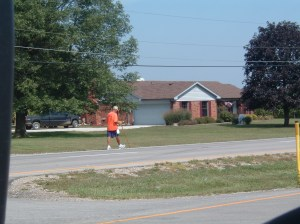 Rick Hammersley Walking the Midwest