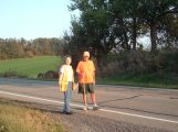 Rick Walks America with Kay Burke