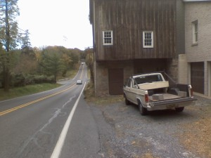 Barn Cut Thru for Road
