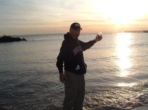 Rick Hammersley Finishes Walk Across America